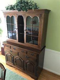Cherry China Cabinet by Buck's County Provencal