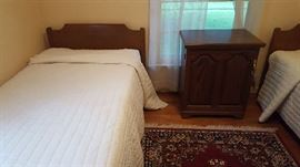 Twin bed frame and mattress   $50 each