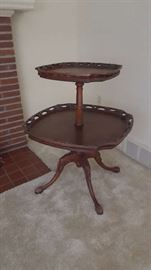 Two tier table - $60