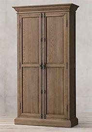 No.2., FRENCH PANEL DOUBLE-DOOR CABINET $1,675.00