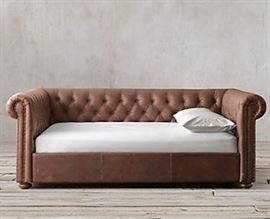 No. 7., Chesterfield Leather Daybed, $2, 400.00