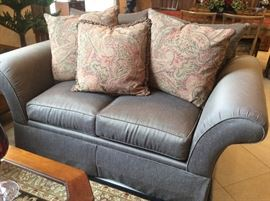 Another view of loveseat! The color is TAUPE!