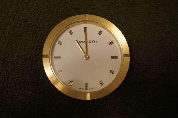 Tiffanny & Co desk clock