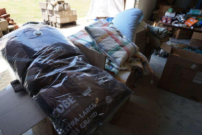 Bed linens. Beautiful comforter sets.