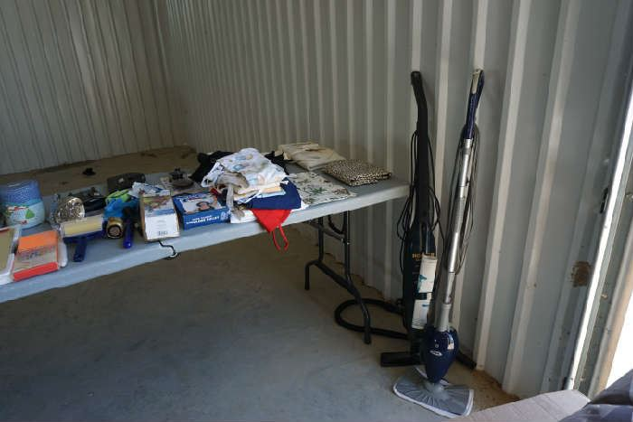Misc household, Shark steam mop, and hoover quick sweep
