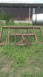 #15 - 3pt hitch Mounted Field Cultivator