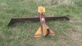 #14 - 3pt hitch scrap blade