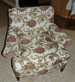 Recovered armchair