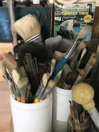 Loads of Paint Brushes!