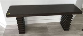 NLP004 Modern Ash Wood Bench
