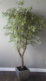 NLP011 Large Potted Artificial Tree