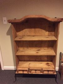 LOVELY WOOD BOOKCASE