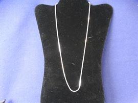 925 Silver Box Snake Chain