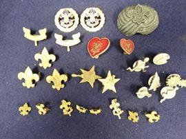 1911-9060s Cub & Boy Scout Pins, Badges & Awards