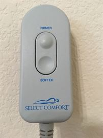Dual control Select Comfort.