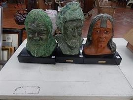 Doug Strutz Bust Sculptures