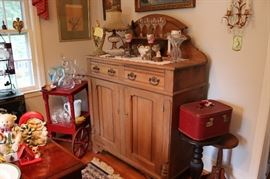 Antique Pine Server