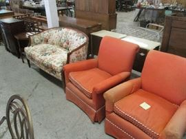 CHAIRS AND LOVESEAT