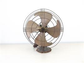 """Vintage GE 18"""" Electric Fan"""
