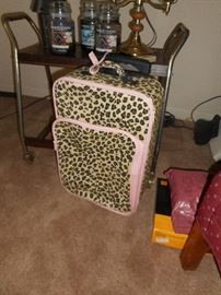 Why not?  Leopard print luggage