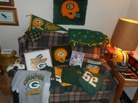 Green Bay Packers collectibles, clothing and etc...