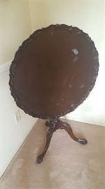 Pie crust table  (as is)  $40