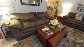 3 piece Sofa, Loveseat and Recliner