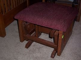 Royal mission ottoman from the Gigglin Pig