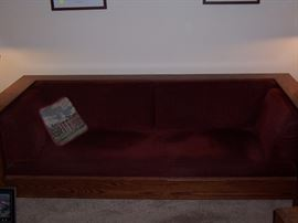 Mission couch from the Gigglin Pig