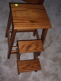 Large folding step stool from the Gigglin Pig