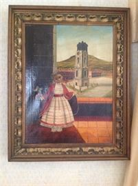 Agapito Labios painting