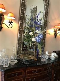 Just lovely floral arrangements and decorative accessories, china, crystal  You will not believe quantity!!!!