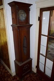 antique tall case clock