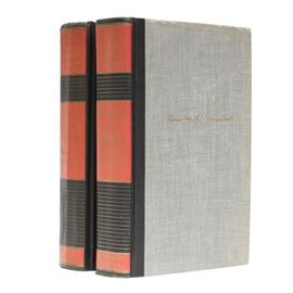 "Winston Churchill's ""History of the English Speaking Peoples"": A collection of Winston Churchill's History of the English Speaking Peoples. There are two volumes including The Birth of Britain and The New World. They were published by Dodd, Mead & Co. in 1967."