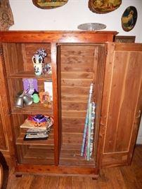 Cedar lined cabinet
