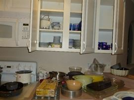 kitchen stuff, dishes and more