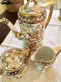 Nippon china cup sugar teapot
