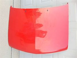 Top View - Chevy S10 front hood