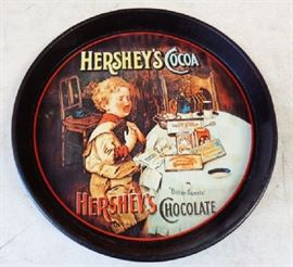 Hershey's Cocoa Metal Serving Tray