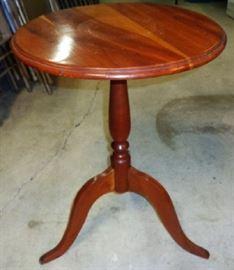 Vintage 3-Legged Lamp Table
