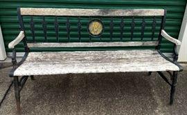 University of Michigan Outdoor Bench