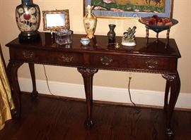 Console Table, Vases, House Decor, Lamp