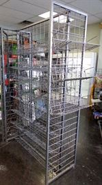 2 Sided Tall Display Rack