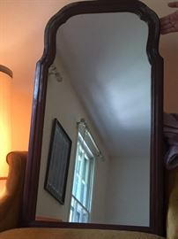 6 Woodframed Mirror