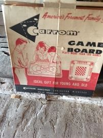 Carrom Game Board in original box.