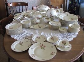 German china service for 12 with all of the completer pieces (67pc set)