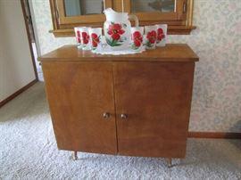 Mid-century modern linen cabinet/small buffet