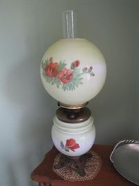 The hand painted Gone with the Wind lamp