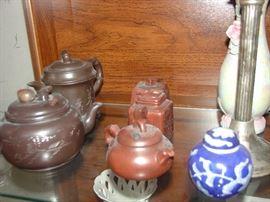 Asian Teapots, Ceramics