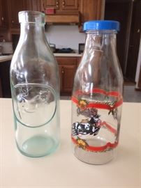Milk Bottles Made in Italy and France